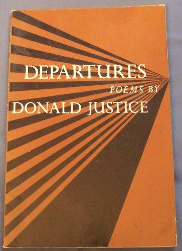 cover of Departures by Donald Justice