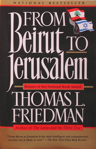 cover of From Beirut to Jerusalem by Thomas L Friedman