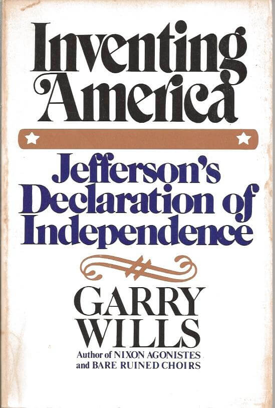 cover of Inventing America by Garry Wills