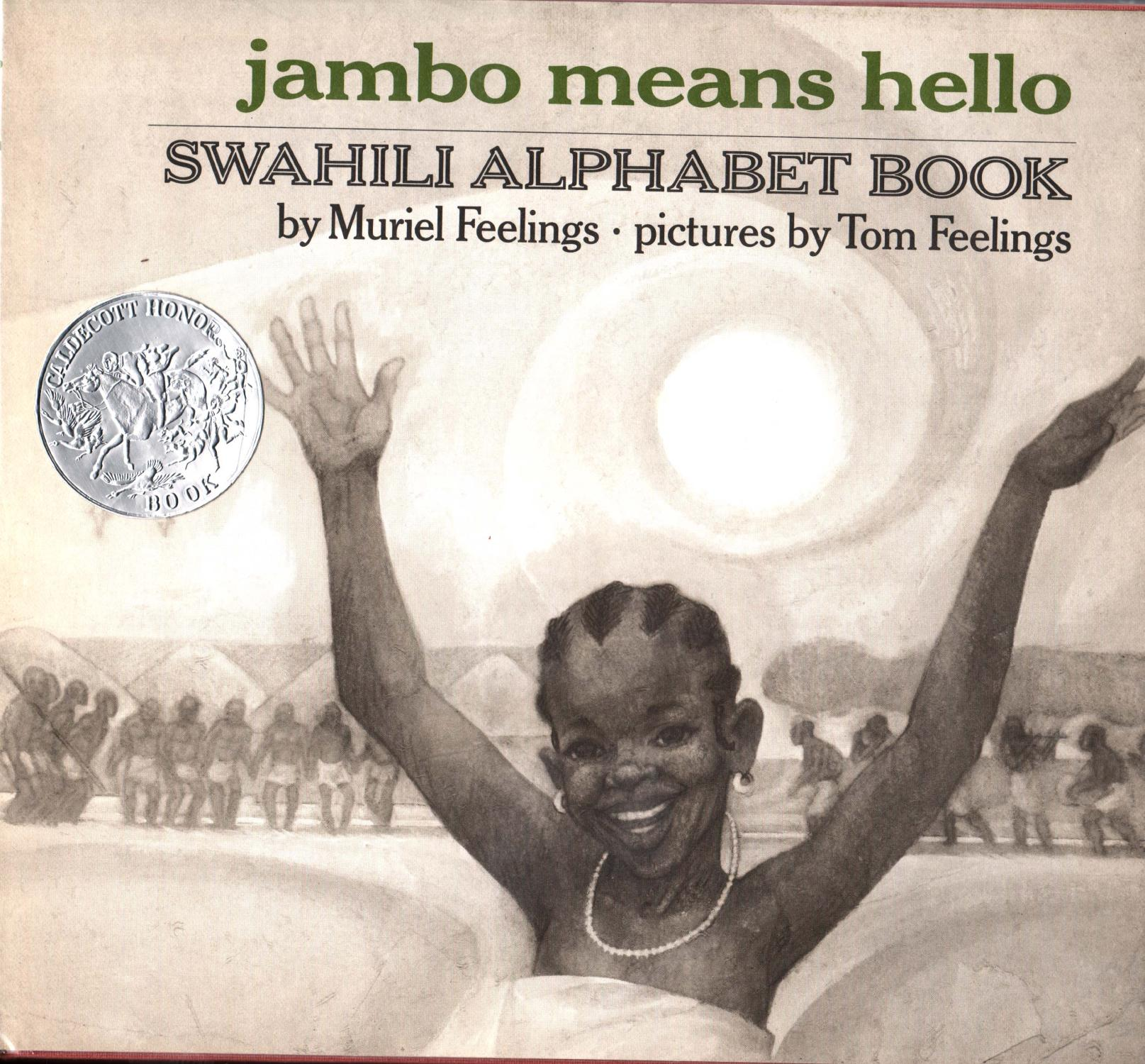 cover of Jambo Means Hello by Muriel Feelings and Tom Feelings