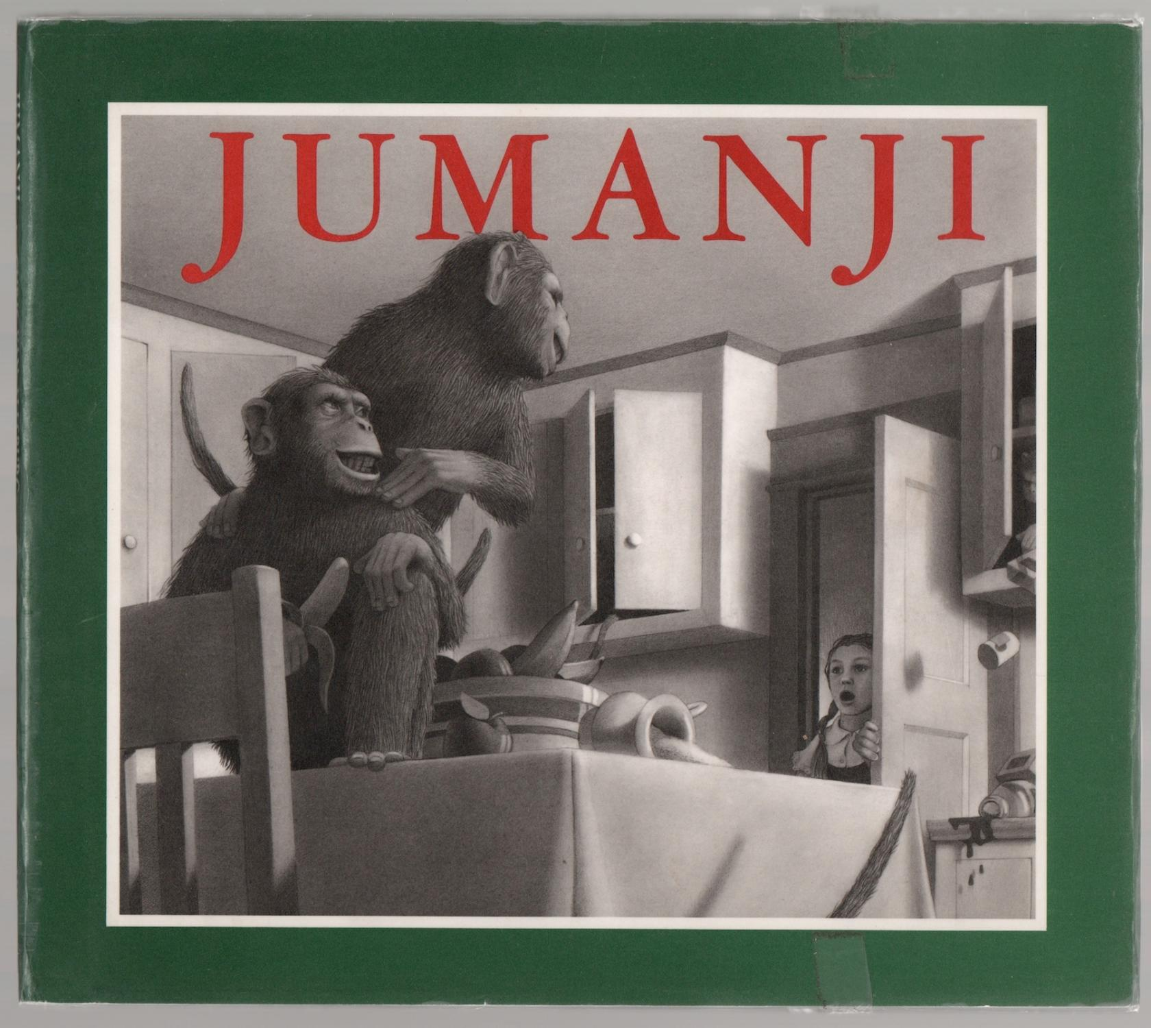 cover of Jumanji by Chris Van Allsburg