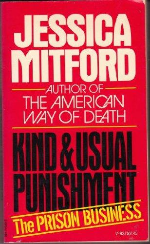 cover of Kind and Usual Punishment by Jessica Mitford
