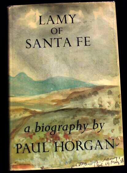 cover of Lamy of Santa Fe by Paul Horgan