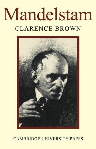cover of Mandelstam by Clarence Brown