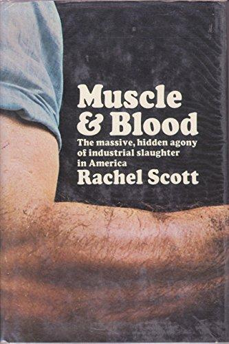 cover of Muscle and Blood by Rachel Scott