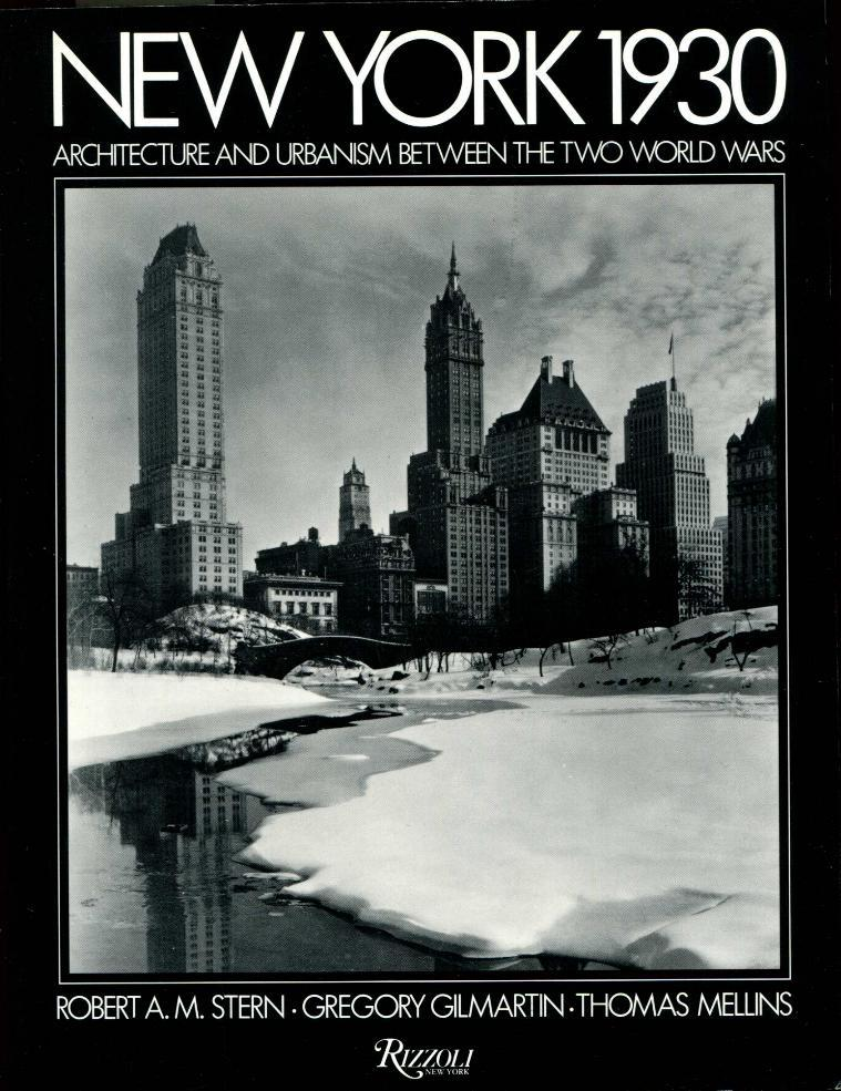 cover of New York 1930 by Robert A M Stern Greggory Gilmartin Thomas Mellins