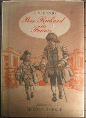 cover of Poor Richard in France by F N Monjo