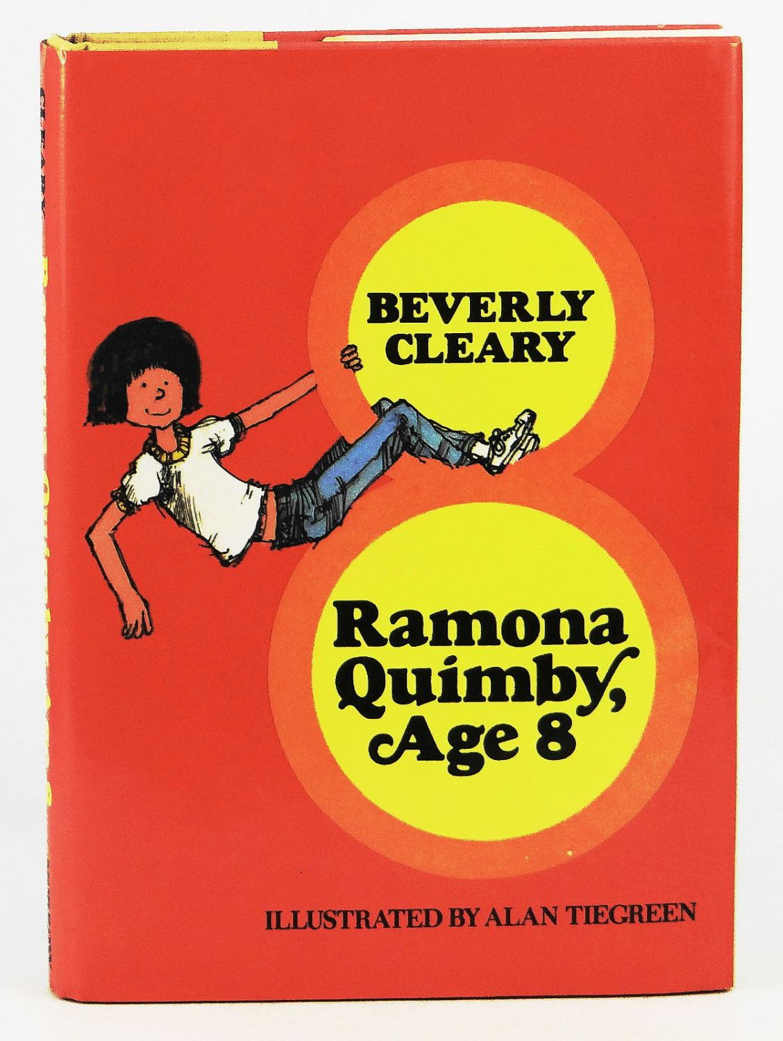 cover of Ramona Quimby Age 8 by Beverly Cleary