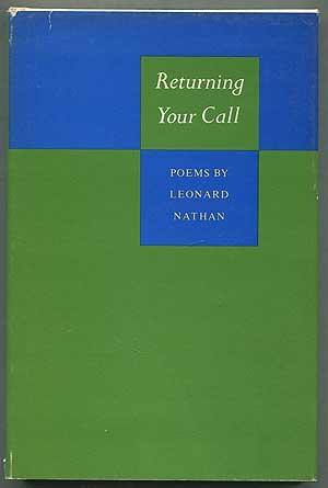 cover of Returning Your Call by Leonard Nathan