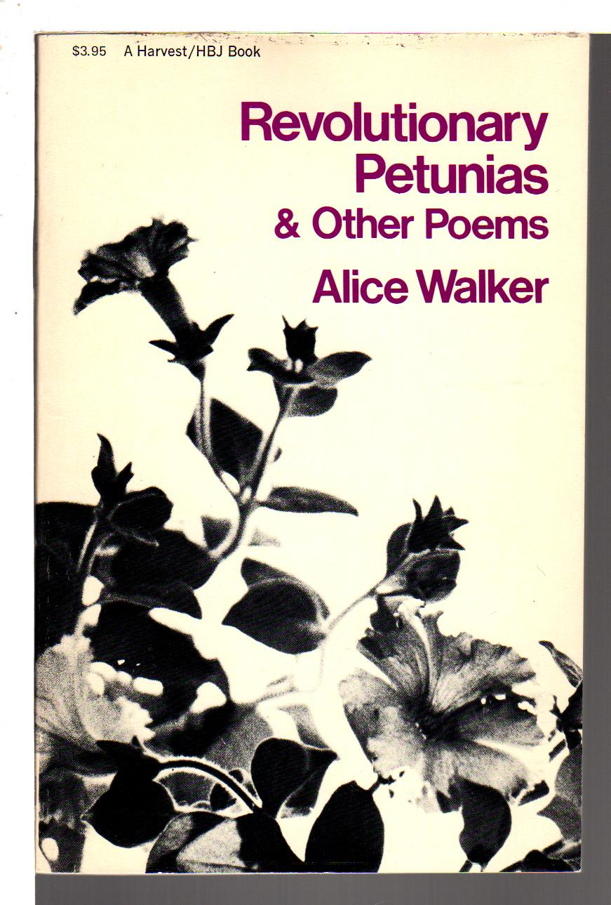 cover of Revolutionary Petunias and Other Poems by Alice Walker
