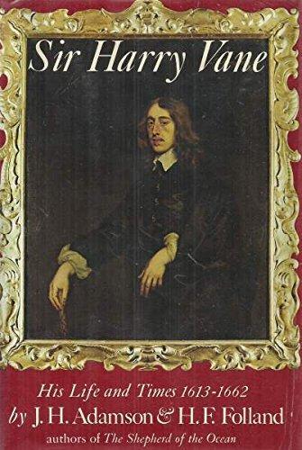 cover of Sir Harry Vane by J H Adamson
