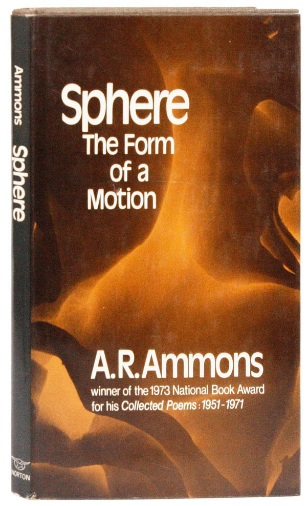 cover of Sphere The Form of a Motion by A R Ammons