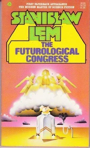 cover of Stanislaw Lem's The Futurological Congress translated by michael Kandel