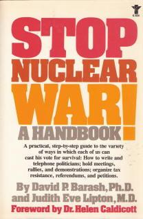 cover of Stop Nuclear War A Handbook by David P Barash and Judith Eve Lipton