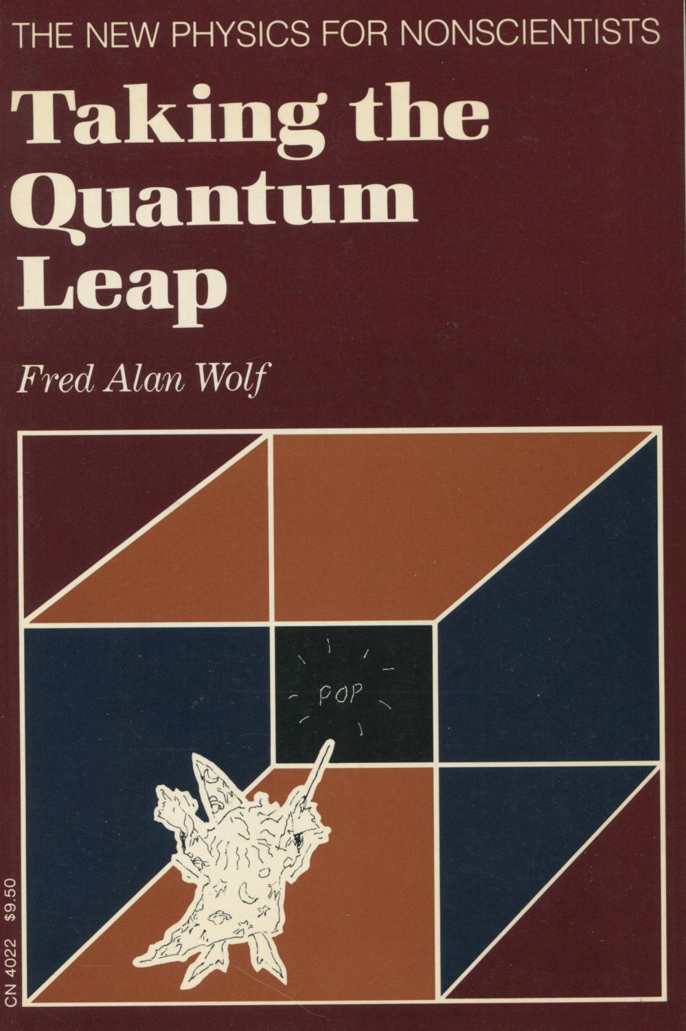 cover of Taking the Quantum Leap by Fred Alan Wolf