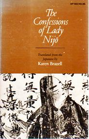 cover of The Confessions of Lady Nijo translated by Karen Brazell