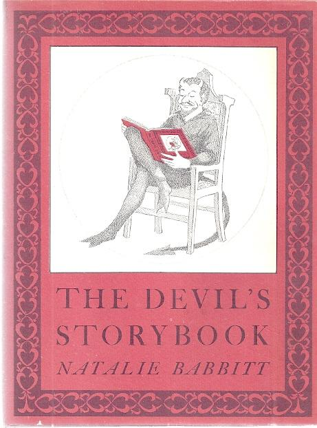 cover of The Devil's Storybook by Natalie Babbitt
