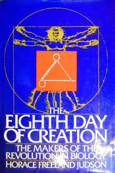 cover of The Eighth Day of Creation by Horace freeland Judson