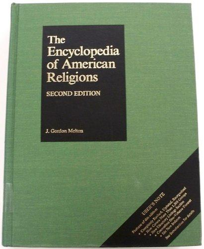 cover of The Encyclopedia of American Religions by J Gordon Melton