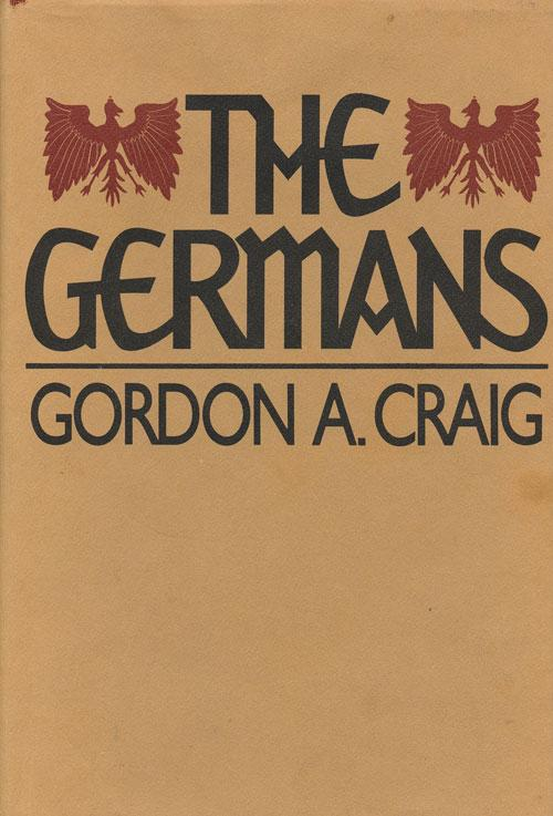 cover of The Germans by Gordon A Craig