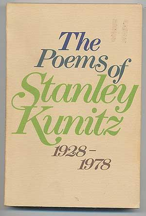 cover of The Poems of Stanley Kunitz 1928 1978 by Stanley Kunitz