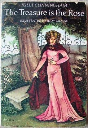 cover of The Treasure is the Rose by Julia Cunningham
