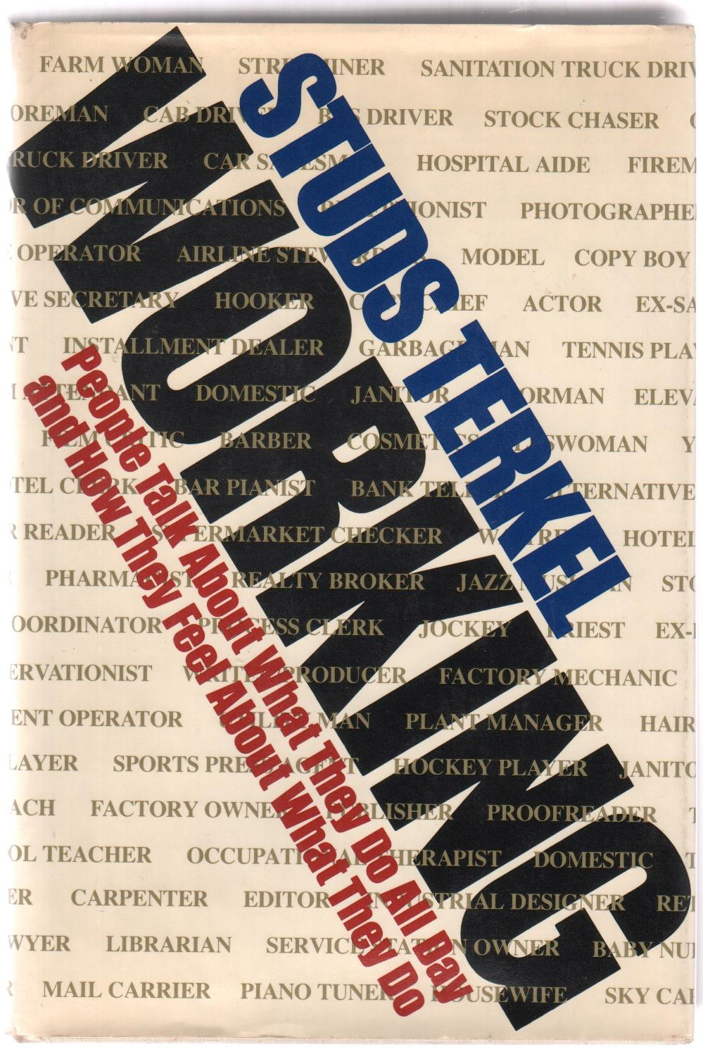 cover of Working by Studs Terkel