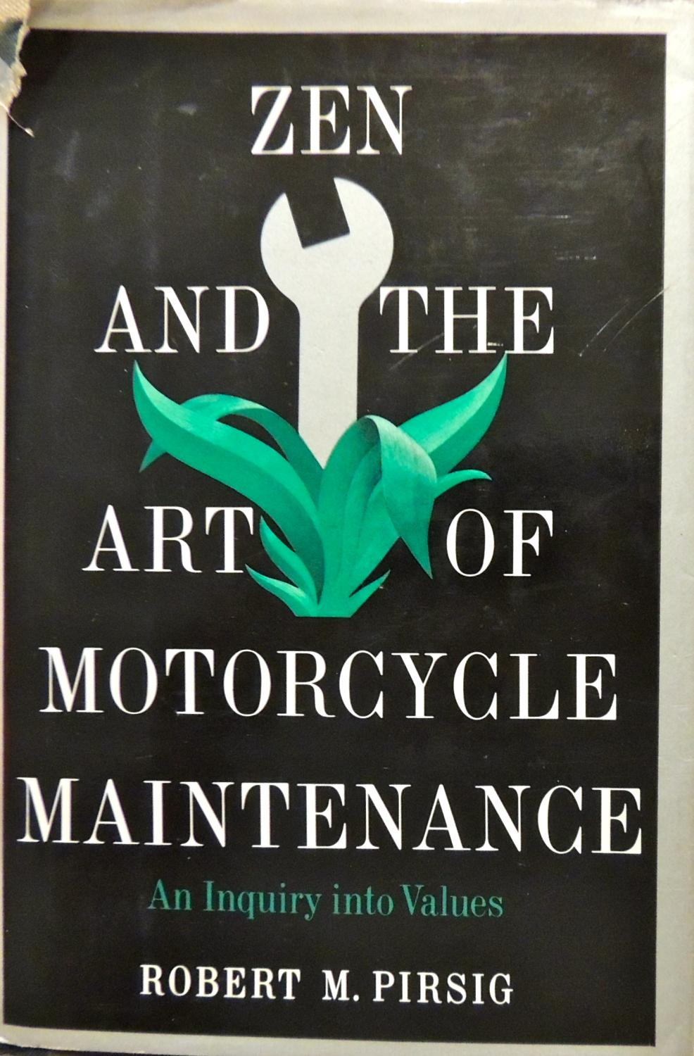 cover of Zen and the Art of Motorcycle Maintenance by Robert M Pirsig