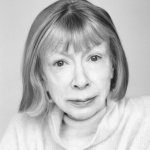 Joan Didion author photo, Photo © Brigitte Lacombe, 2005