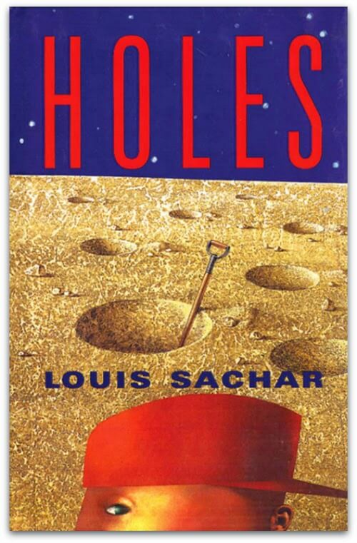 holes louis sachar book cover