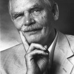 photo of Frederik Pohl in 1987