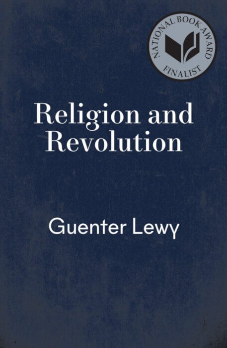 cover Religion And Revolution by Guenter Lewy