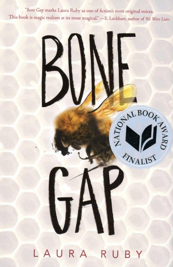 Bone Gap by Laura Ruby book cover, 2015