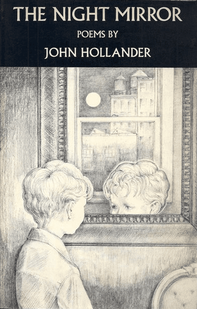 The Night Mirror, poems by John Hollander, book cover