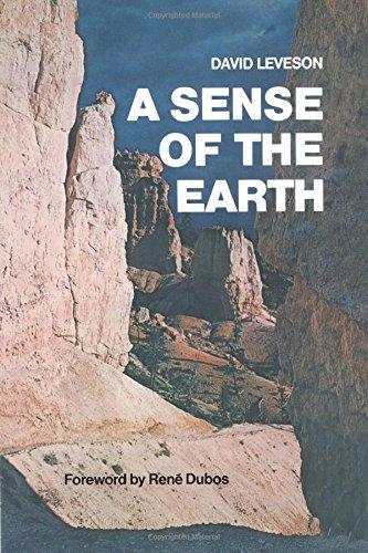 cover of A Sense of the Earth by David Leveson