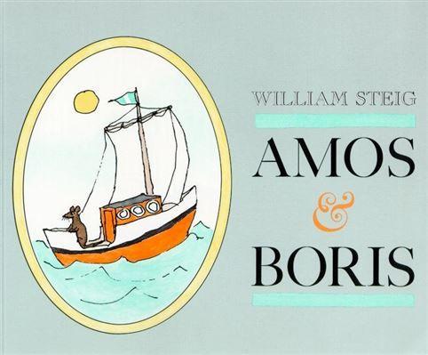 cover of Amos & Boris by William Steig