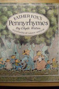 cover of Father Fox's Pennyrhymes by Clyde and Wendy Watson