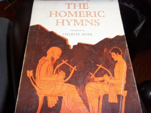 cover of Homer's The Homeric Hymns translated by Charles Boer