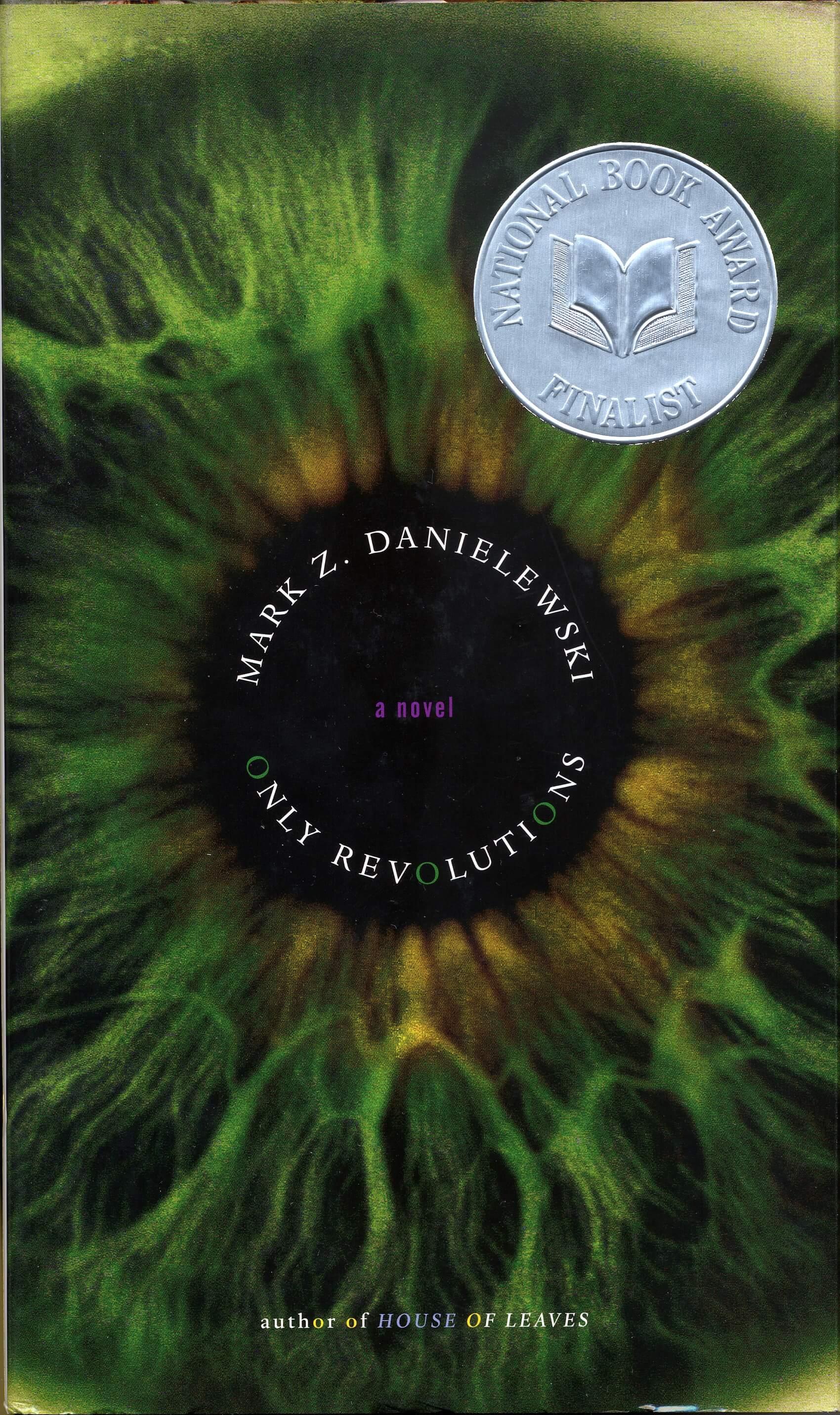 Only Revolutions by Mark Z. Danielewski book cover, 2006