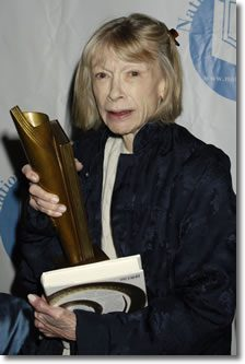 Joan Didion Accepts the 2005 National Book Award in Nonfiction