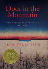 Door in the Mountain by Jean Valentine book cover, 2004