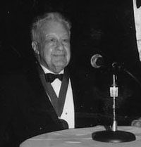 Clifton Fadiman Accepts the 1993 Medal for Distinguished Contribution to American Letters