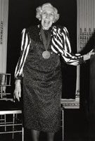 Eudora Welty Accepts the 1991 Medal for Distinguished Contribution to American Letters