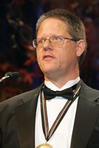 William T. Vollman Accepts the 2005 National Book Award for Fiction