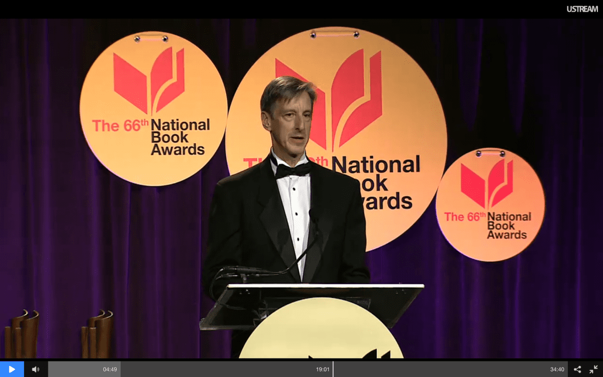 National Book Awards Ceremony, 2015