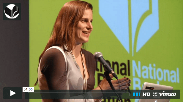 Lauren Groff reads at the 2015 National Book Awards Finalists Reading