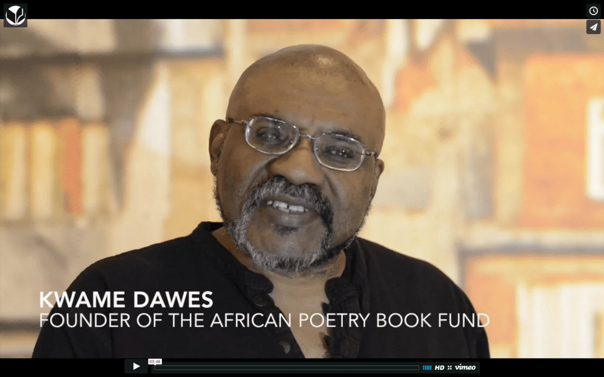 Kwame Dawes discusses literary activism at Why Reading Matters Conference