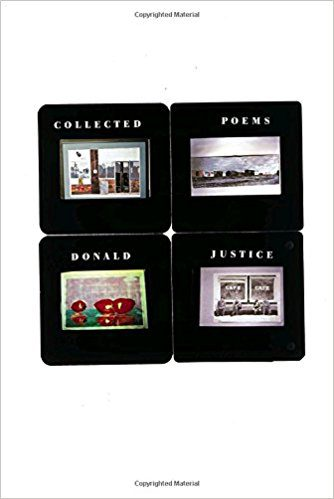 Collected Poems, by Donald Justice, book cover 2004