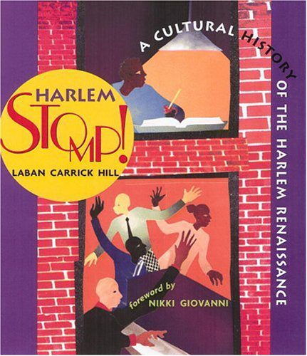 Harlem Stomp, by Laban Carrick Hill, book cover 2004