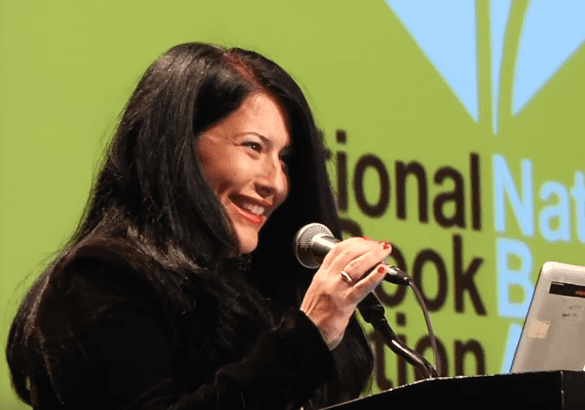 Ada Limón reads at the 2015 National Book Awards Finalists Reading